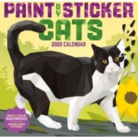 '2020 Paint By Sticker Cats Wall Calendar