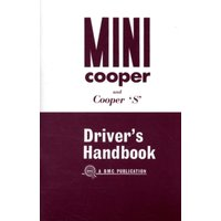 'Mini Owner's Handbook: Mini Cooper & Cooper `s' Mk 1 : Part No. Akd3891