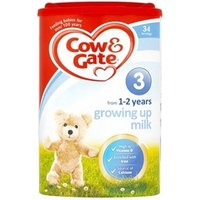 Cow & Gate 3 Growing Up Milk 1-2 Years 800g 6 tubs