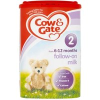 Cow & Gate 2 Follow On Milk Powder 800g 6 tubs
