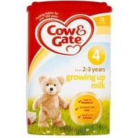 Cow & Gate 4 Growing Up Milk 2-3 Years 800g 4 tubs