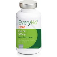 Everykid Childrens Fish Oil 500mg Softgels 120 softgels