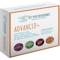Food Intolerance Hair Testing Kit 1 person advanced kit