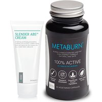 Metaburn & SlenderAbs Tummy Tightening Lotion 1 bundle