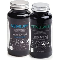 Metaburn Fat Burner & Metacleanse Detox 2 bundles