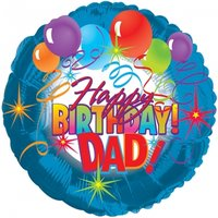 Happy Birthday Dad Balloon - Flowers Gifts