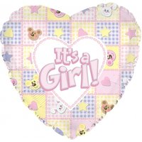 It's a Girl Balloon - Flowers Gifts