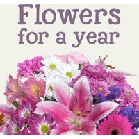 Flowers for a Year - Flowers Gifts