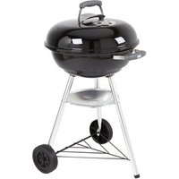 Weber Compact Black Charcoal Barbecue.