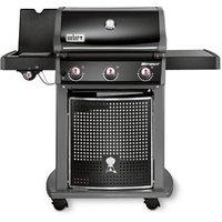 Weber Spirit E-320 Black 3 burner Gas Barbecue.