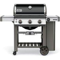 Weber Genesis ® II E310 Black 3 burner Gas Barbecue.
