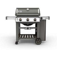 "Weber Genesis ® II E310 "" GBS "" Smoke grey 3 burner Gas Barbecue."