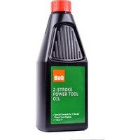 B&Q 2 stroke Power tool Oil 1L.