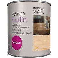 Clear Satin Furniture Wood varnish  0.25L