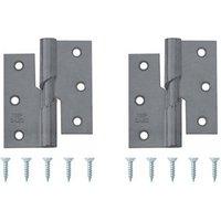 Steel Butt Door hinge (L)75mm N337  Pack of 2