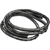 BandQ Black 10mm Cable wrap  (L)1.5m