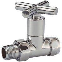 Plumbsure Straight Towel warmer valve