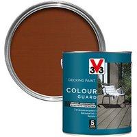 V33 Colour guard Matt light brown Decking paint  2.5L