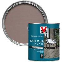 V33 Colour guard Matt light silver Decking paint  2.5L