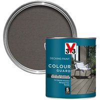V33 Colour guard Matt dark silver Decking paint  2.5L