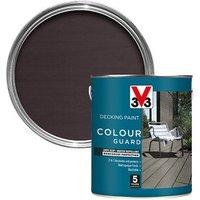 V33 Colour guard Matt gun metal Decking paint  2.5L