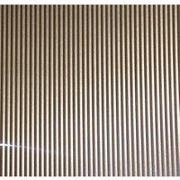 FFA Concept Silver effect Anodised Aluminium Corrugated Sheet  (H)1000mm (W)500mm (T)1mm
