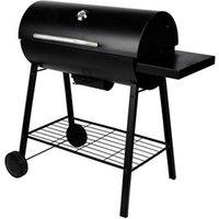 Barrel Black Charcoal and wood Barbecue