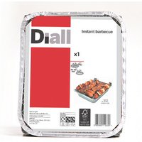 Diall Charcoal Disposable Barbecue.