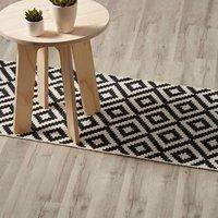 Ballapur Grey Oak effect High-density fibreboard (HDF) Laminate Flooring Sample