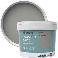 GoodHome Classic Hudson Smooth Matt Masonry paint  10L