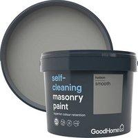 GoodHome Self-cleaning Hudson Smooth Matt Masonry paint  10L