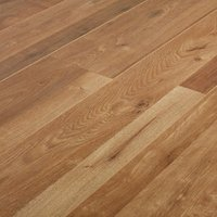 GoodHome Dawlish Natural Oak effect Laminate flooring  2.13m² Pack