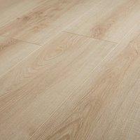 GoodHome Ledbury Natural Light oak effect Laminate flooring  1.88m² Pack
