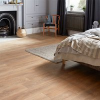 GoodHome Mossley Natural Natural oak effect Laminate flooring  1.73m² Pack