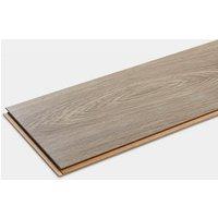Oldbury Grey Gloss Oak effect Laminate Flooring Sample