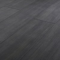 GoodHome Romford Black Dark oak effect Laminate flooring  1.73m² Pack