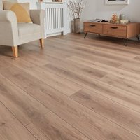 GoodHome Stoke Natural Oak effect Laminate flooring  1.73m² Pack