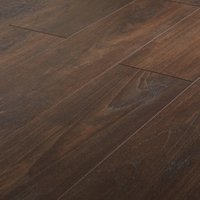 GoodHome Swanley Natural Smoked oak effect Laminate flooring  1.29m² Pack