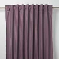 Klama Light purple Plain Unlined Pencil pleat Curtain (W)140cm (L)260cm  Single