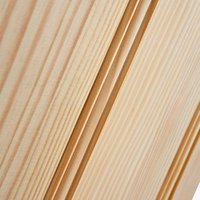 4 panel Traditional Clear pine LH and RH Internal Door  (H)1981mm (W)838mm