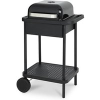 Blooma Rockwell 200 Black Charcoal Barbecue.