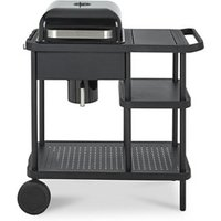 Blooma Rockwell 210 Black Charcoal Barbecue.