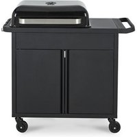Blooma Rockwell 310 Black Charcoal Barbecue.