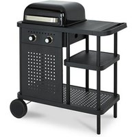 Blooma Rockwell 210 Black 2 burner Gas Barbecue.