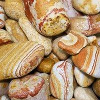 Blooma Multicolour 30-50mm Stone Pebbles  22.5kg Bag