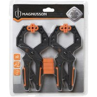 Magnusson 50mm Bar clamp Pack of 2.