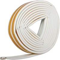 Diall White Self-adhesive Draught seal (L)6m.