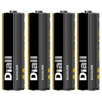 Diall Alkaline batteries Non-rechargeable AA Battery Pack of 4.