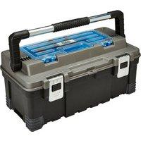 Mac Allister 22 Plastic 1 compartment Toolbox.