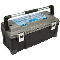 Mac Allister 26 Plastic 1 compartment Toolbox.